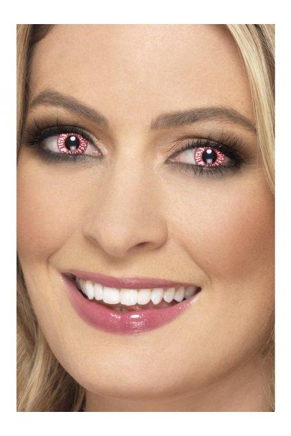 Krvavé oči - kontaktní čočky