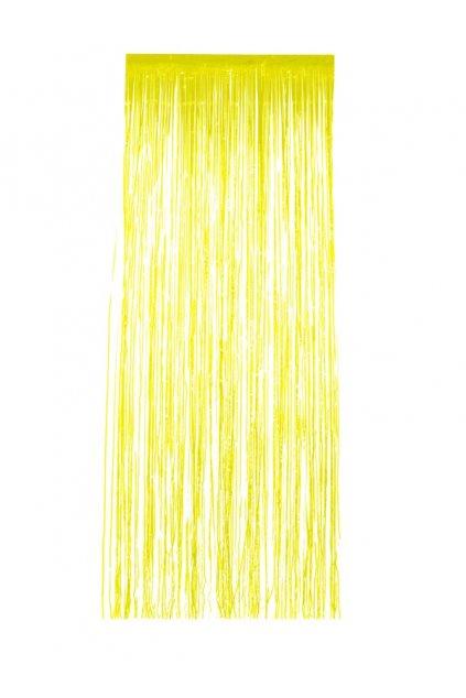 Žlutý závěs