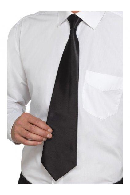 Černá kravata Gangster