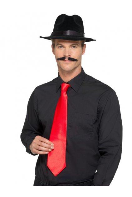 Červená kravata Gangster