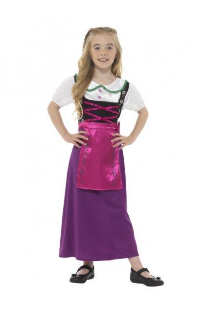 Bavorská princezna - dívčí kostým