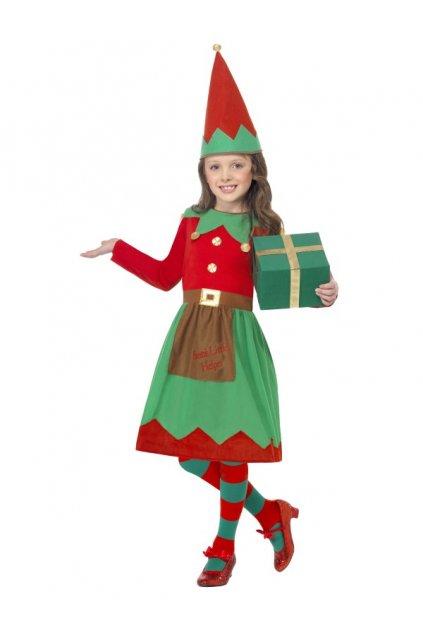 Dětský kostým Santova pomocnice