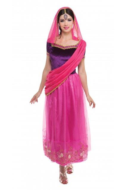Kostým Indka - Bollywood - orientální princezna