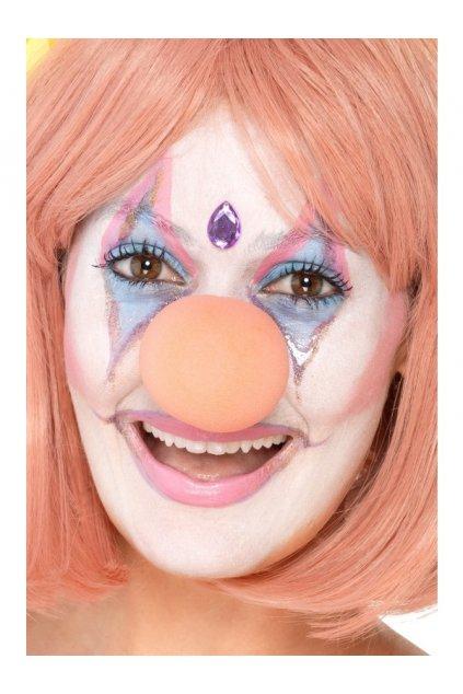 Růžový klaunský nos