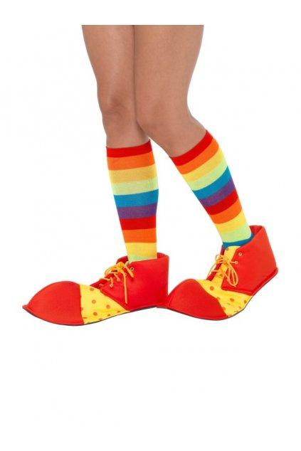 Levné klaunské boty