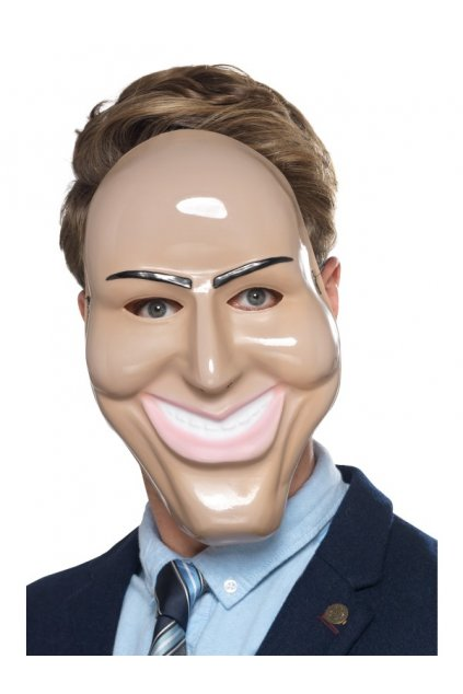 Karnevalová maska tvář muže