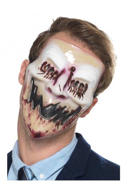 Krvavá tvář - maska