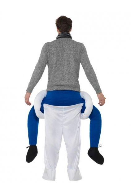 Kostým sněhulák - piggyback