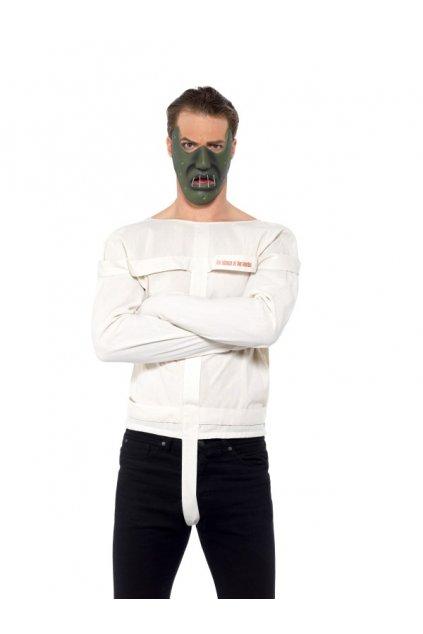 Kostým svěrací kazajka - Mlčení jehnátek