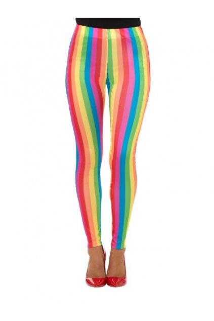 Duhové legíny rainbow