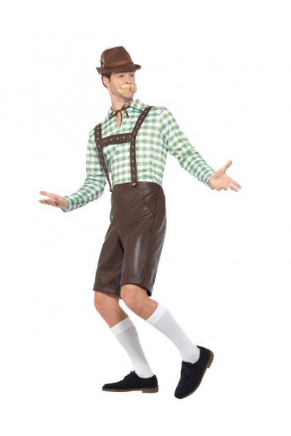 Kostým bavorského muže Zelený