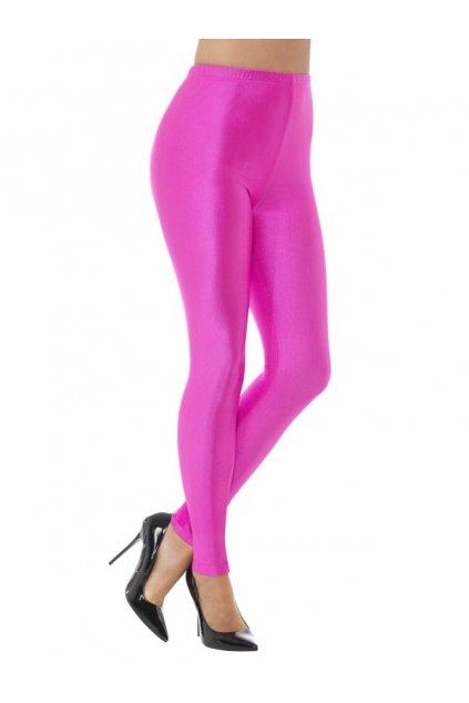 Růžové legíny - neon
