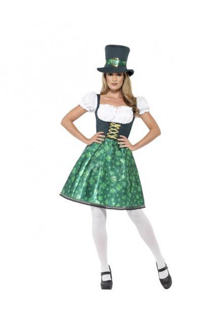 Kostým bavorky - zelený