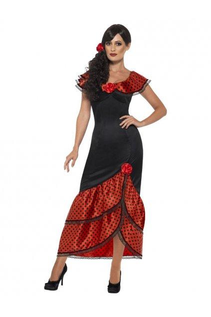 Španělka - Flamenco Seňorita dámský kostým