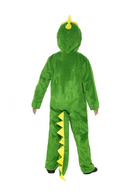 Dětský kostým drak - zelený