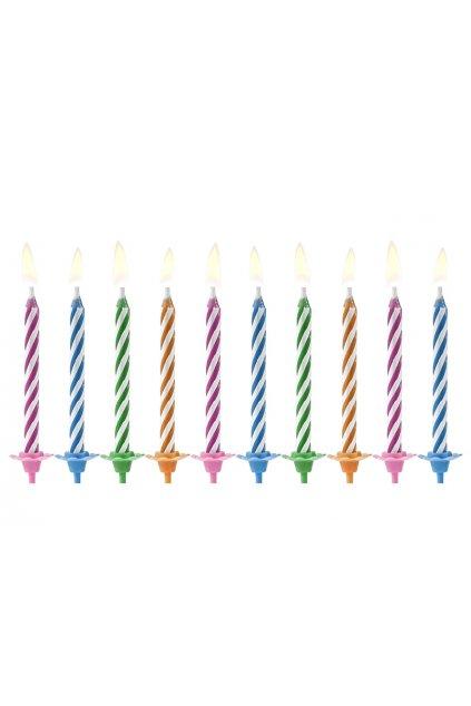 Levné dortové svíčky 10ks