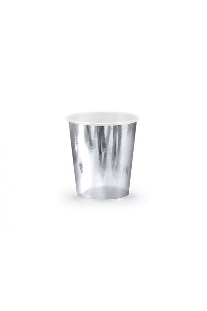 Párty kelímky - stříbrné