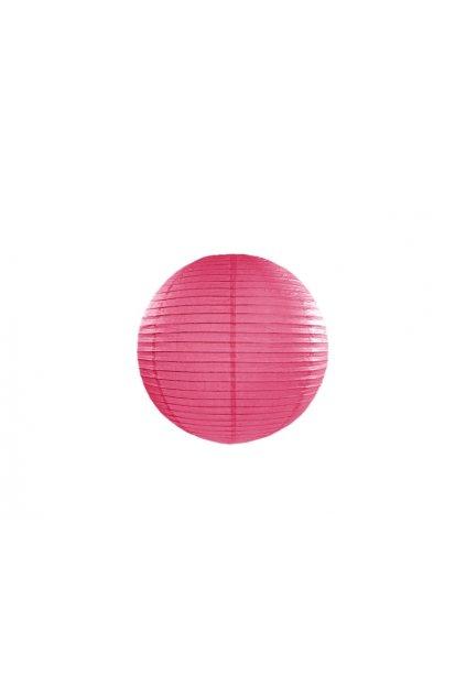 Lampión kulatý - růžový