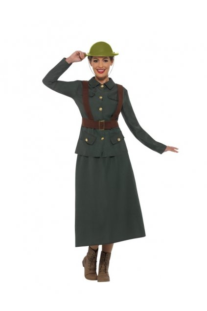Kostým z 2.světové války dámský