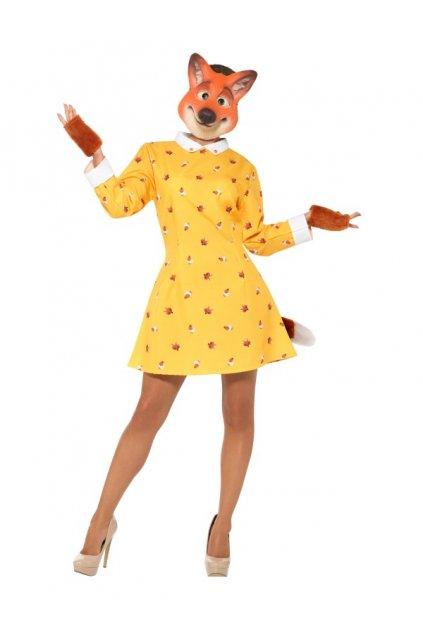 Kostým liška dámský