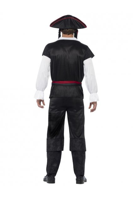 Kostým piráta s kloboukem