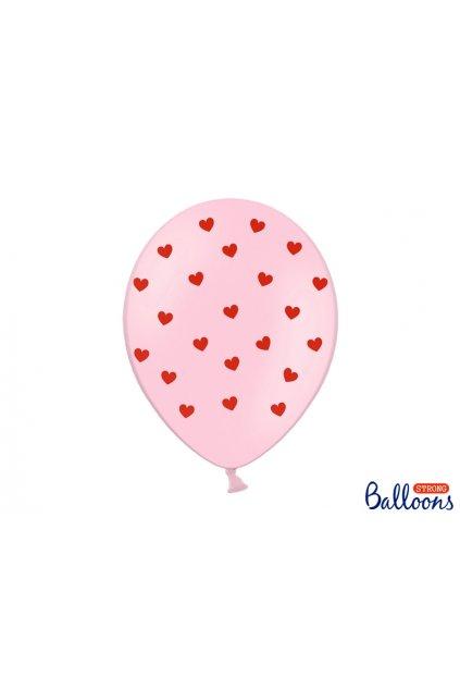 Nafukovací balónky - srdíčka