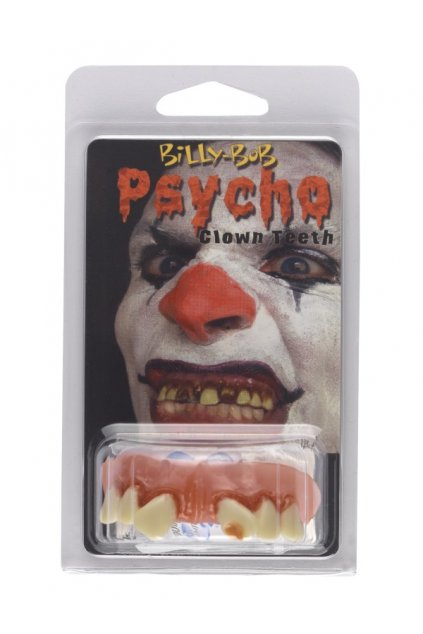 Umělé zuby klaun