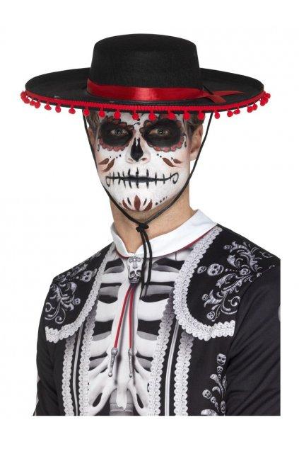 Španělský klobouk Muerte - Den mrtvých (Day of the Dead)