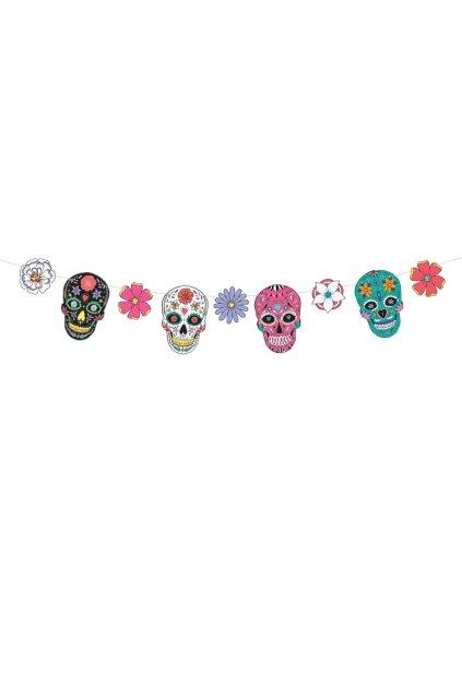 Girlanda - Dia de los Muertos - svátek mrtvých