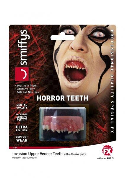 Umělé zuby - alien - realistické