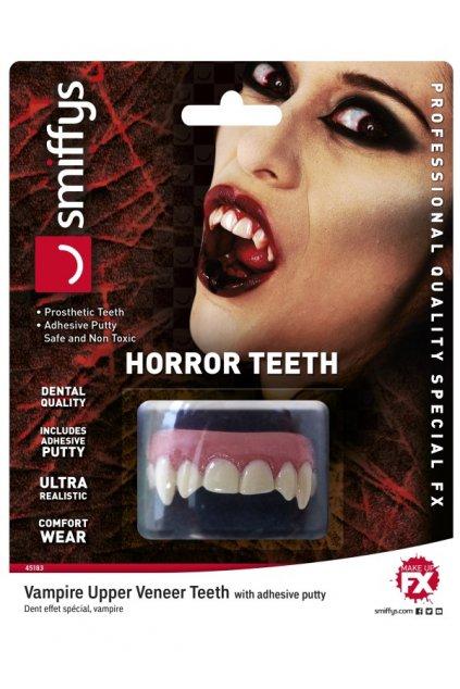 Upíří zuby - realistické