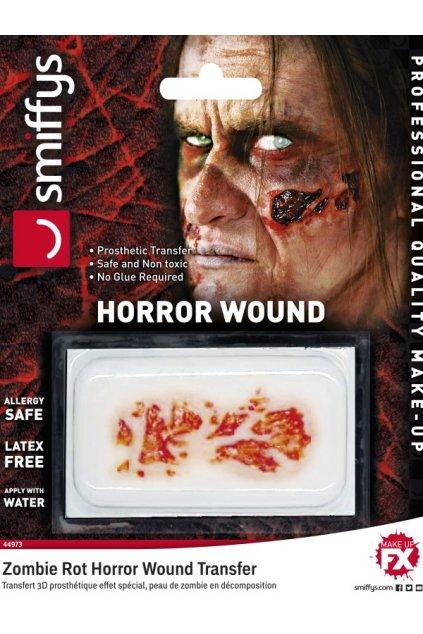 Umělé zranění - zombie