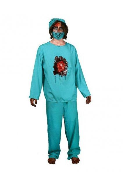 Bušící srdce doktor - digitální kostým