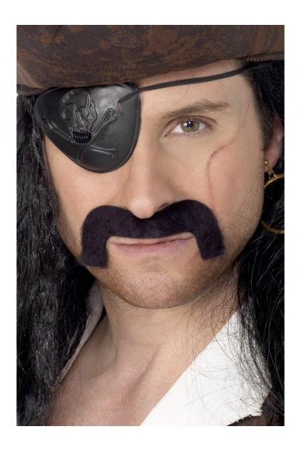 Pirát - knír umělé vousy
