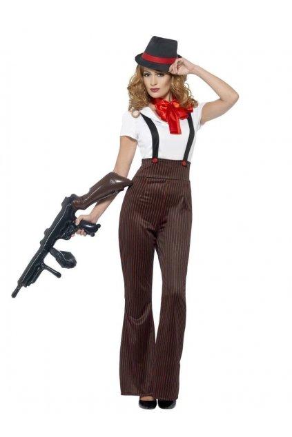 Gangsterka - dámský kostým 20tá léta