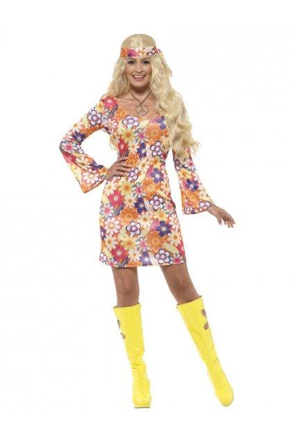 Kostým hippie dámský