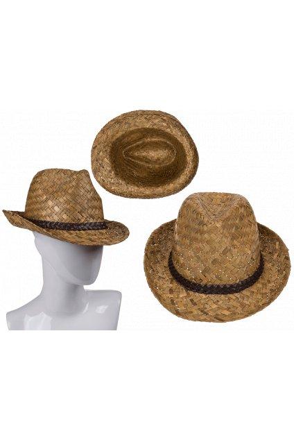 Slamák - slaměný klobouk