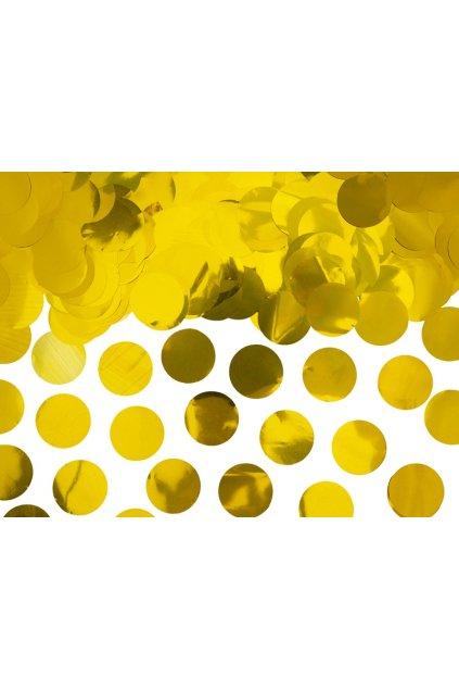Párty konfety - zlaté