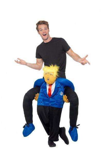 Kostým - president Trump - piggyback