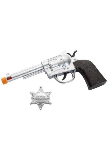 Pistol a šerifova hvězda