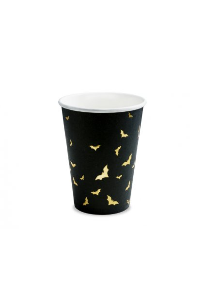 Papírové kelímky - netopýři