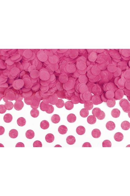 Papírové konfety - růžové
