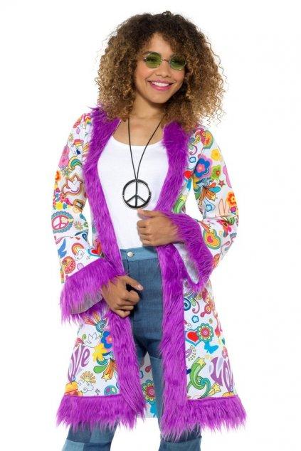 Hippies kabát - dámský kostým 60. léta