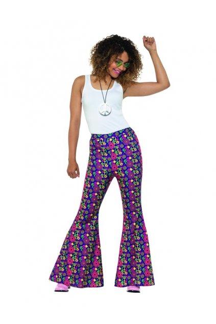 Dámské kalhoty pro Hippie - Psychedelic