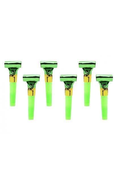 Párty frkačka zelená - 6ks
