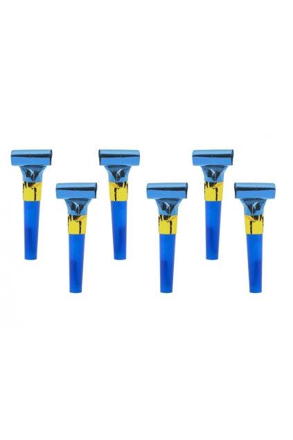 Párty frkačka modrá - 6ks
