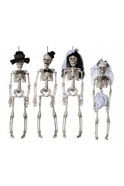 Kostlivec - závěsná dekorace Halloween