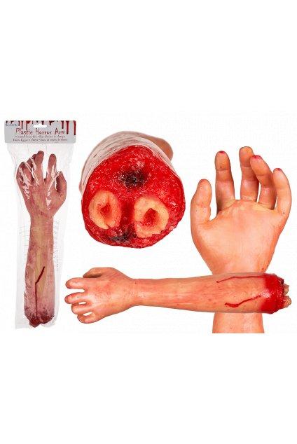 Umělá ruka - krvavá dekorace Halloween