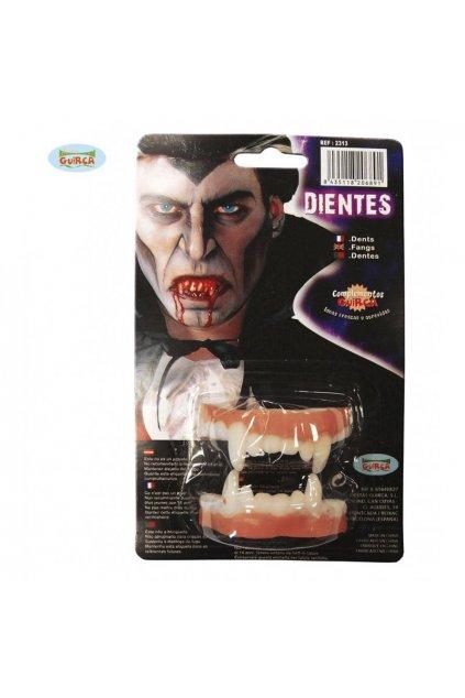 Upíři zuby - latexové
