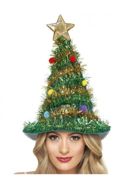 Čepice - vánoční stromeček